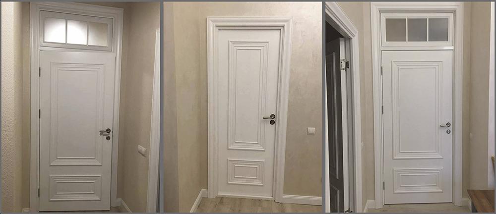 дверь белая палаццо 2