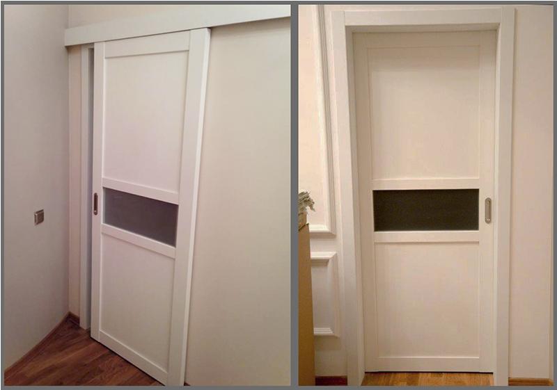 межкомнатная дверь аляска фото в интерьере