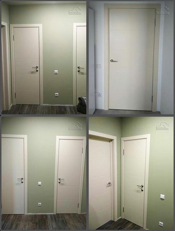 двери арвика слоновая кость фото в интерьере